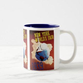 New York World's Fair (Globe) Coffee Mugs