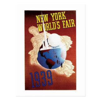 New York World's Fair (Globe) Postcard