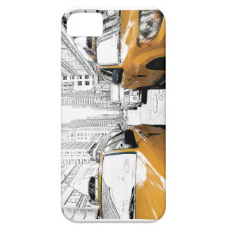 """""""New York Yellow Cabs"""" iPhone 5 Cover"""