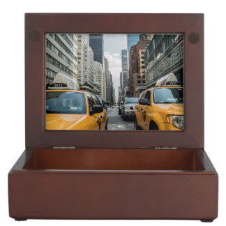 New York Yellow Taxi Cabs Memory Boxes