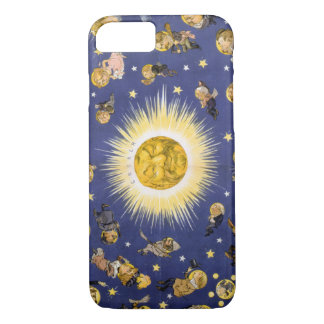 New York's new solar system Vintage Poster 1898 iPhone 7 Case