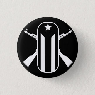 New Young Lords 3 Cm Round Badge
