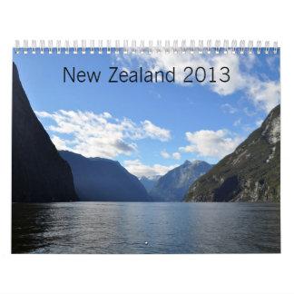 New Zealand 2013 Wall Calendars