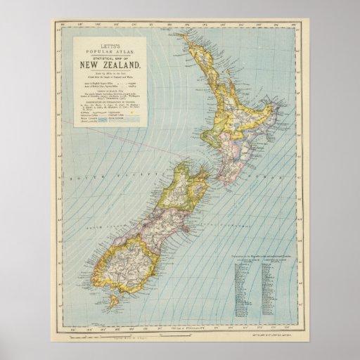 New Zealand 4 Print