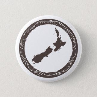 New Zealand 6 Cm Round Badge