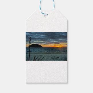 New Zealand Abel Tasman Sunset Gift Tags