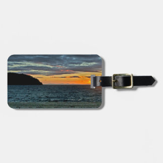 New Zealand Abel Tasman Sunset Luggage Tag