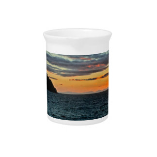 New Zealand Abel Tasman Sunset Pitcher