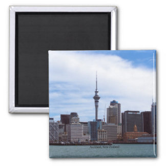 New Zealand: Auckland cityscape Magnet