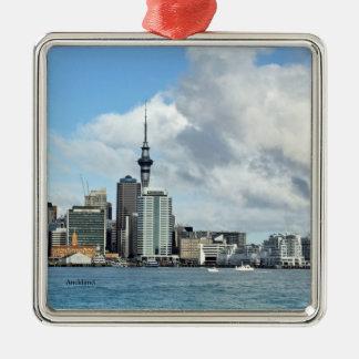 NEW ZEALAND: Auckland Skyline Metal Ornament