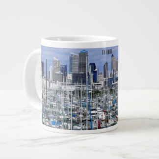 New Zealand Boat Dock, Jumbo Mug