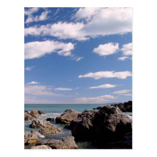 New Zealand Coast Postcard