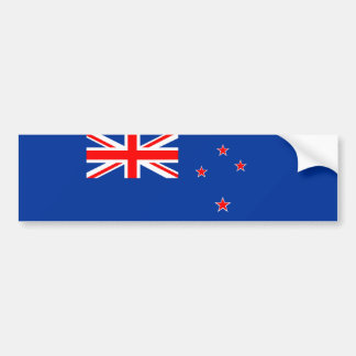 new zealand country flag nation symbol bumper sticker