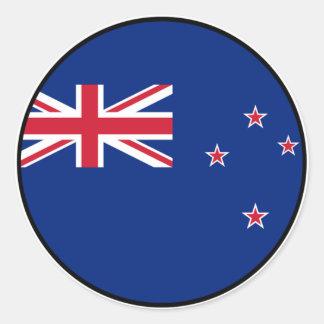 New Zealand Euro Sticker