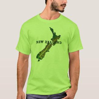New Zealand Fern Map T-Shirt