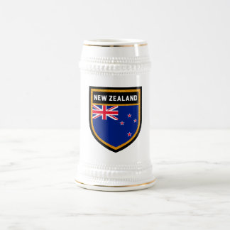 New Zealand Flag Beer Stein