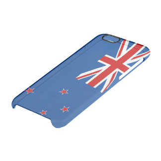 New Zealand flag Clear iPhone 6/6S Case