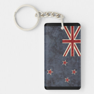 New Zealand Flag Key Chain Souvenir