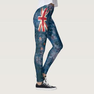 New Zealand Flag Leggings