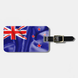 New Zealand Flag Luggage Tag