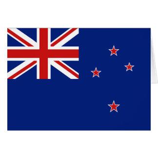 New Zealand Flag Notecard Greeting Card
