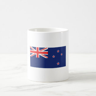 New Zealand Flag Oil Painting Coffee Mug