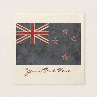 New Zealand Flag Party Napkins Disposable Serviette