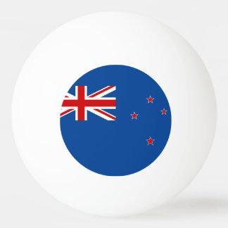 New Zealand flag Ping Pong Ball