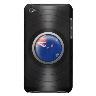 New Zealand Flag Vinyl Record Album Graphic Barely There iPod Cover