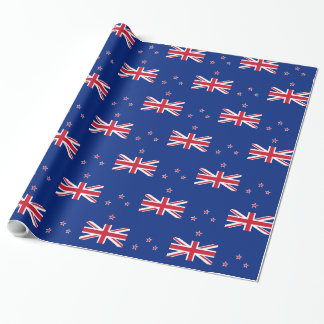 New Zealand flag Wrapping Paper