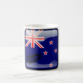 New Zealand glossy flag Coffee Mug