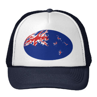 New Zealand Gnarly Flag Hat