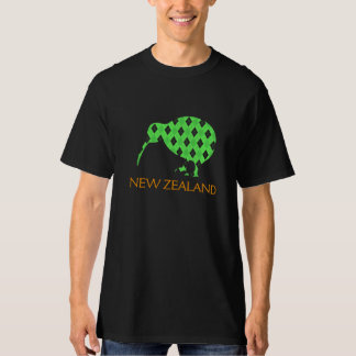 New Zealand Green Kiwi Argyl Pattern shirt