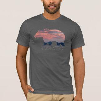 New Zealand Grizzly Bear   Sunset   Men's Shirt
