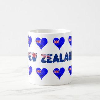 New Zealand heart flag Coffee Mug