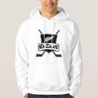 New Zealand Ice Hockey Flag Hoodie