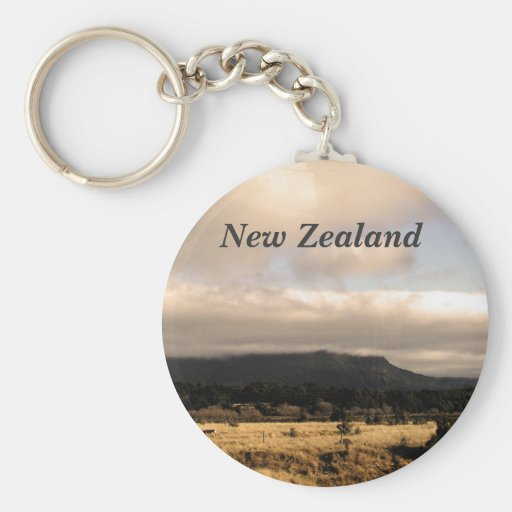 New Zealand Key Chains