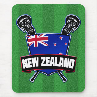 New Zealand Lacrosse Mouse Pad