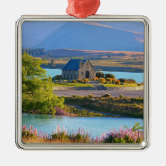 New Zealand - Lake Tekapo Metal Ornament
