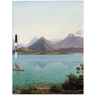 New Zealand Lake Wakatipu Dry Erase Board