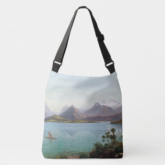 New Zealand Lake Wakatipu Shoulder Tote Bag