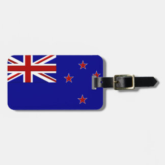 New Zealand Luggage Tag (add your contact info)
