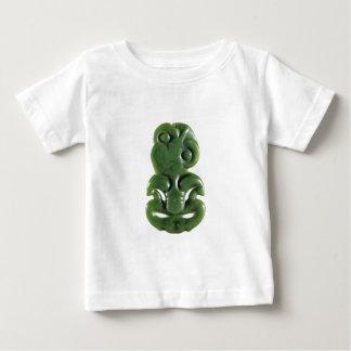 New Zealand Maori Hei Tiki Design Baby T-Shirt