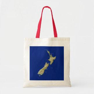 New Zealand Map Bag