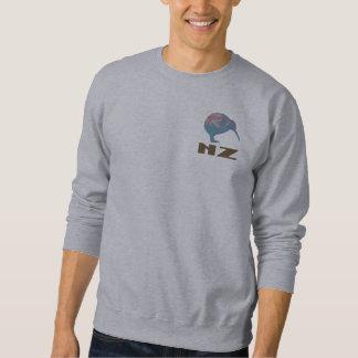 New Zealand Modern Kiwi Mens Gray Sweatshirt