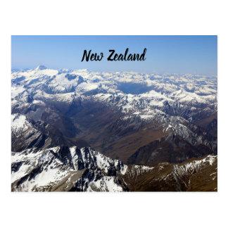 New Zealand Mountains Postcard