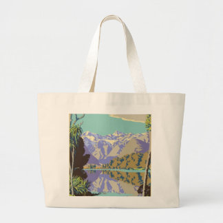New Zealand Mountian Canvas Bag