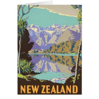 New Zealand Mountian Greeting Card