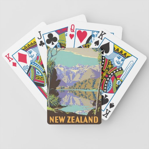 New Zealand Mountian Deck Of Cards
