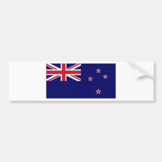 New Zealand National Flag Bumper Sticker